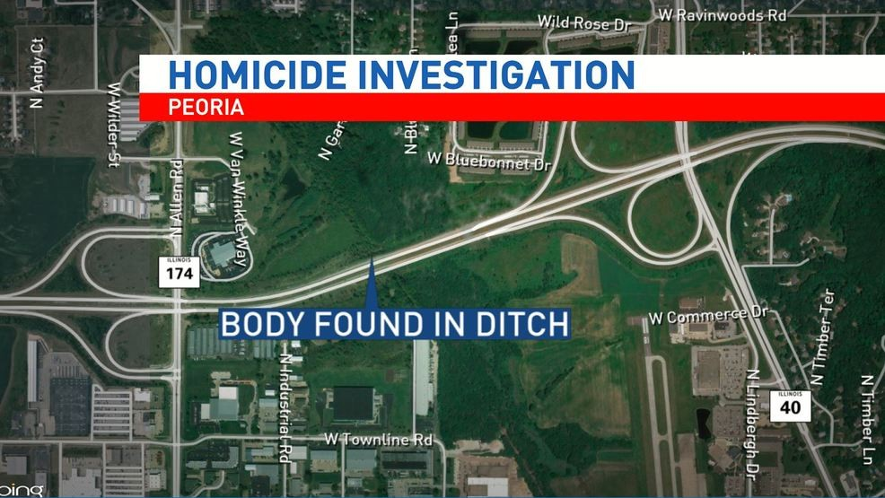 Coroner: Woman dead in central Illinois ditch was strangled ... on state of illinois map, illinois street map, illinois state routes, illinois court map, illinois region map, illinois highway map, illinois green map, illinois altitude map, illinois features, illinois registration, illinois section map, illinois information, illinois expressway map, illinois travel map, illinois river map, i'll road map, illinois zone map, illinois products, illinois elevation, illinois travel guide,