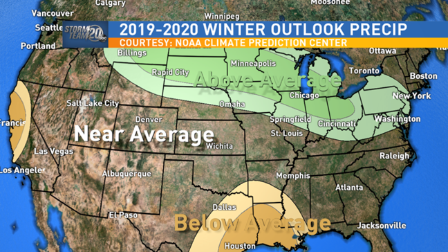 Winter 2020 Forecast Chicago.Noaa Climate Prediction Center Issues 2019 2020 Winter